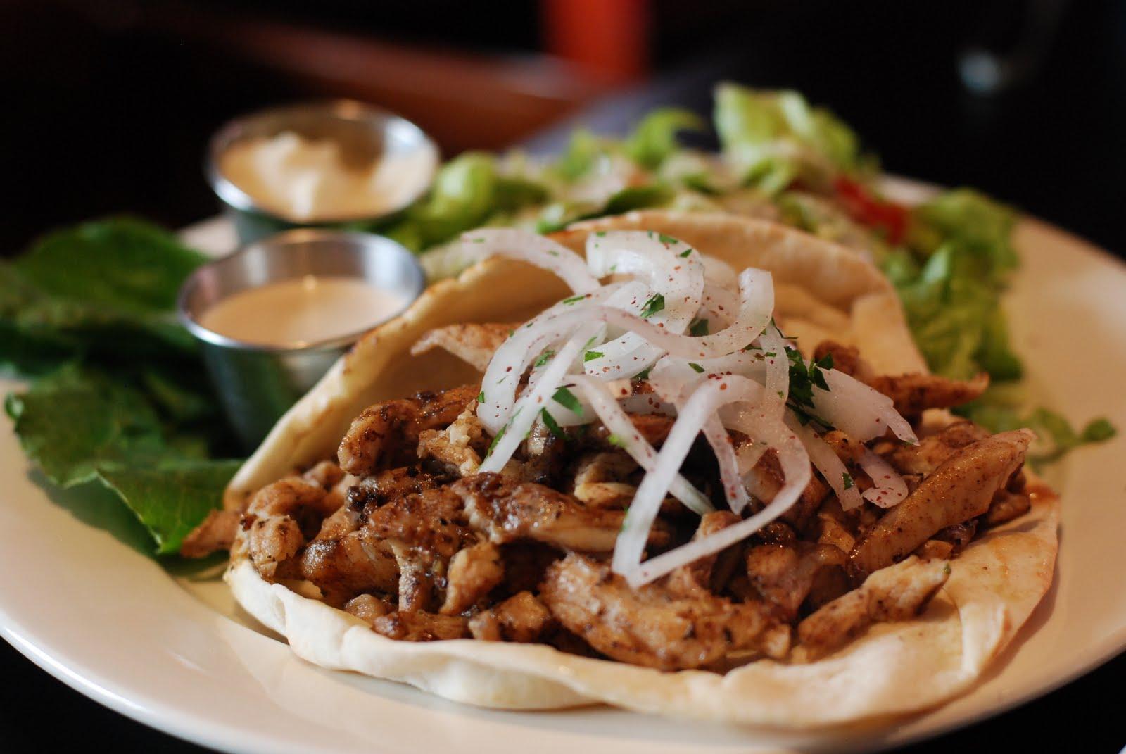 Chicken Shawarma Sandwich | Khoury's Mediterranean